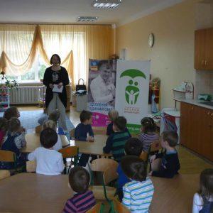 Бесіда з вихованцями дитячого садочку, Київ