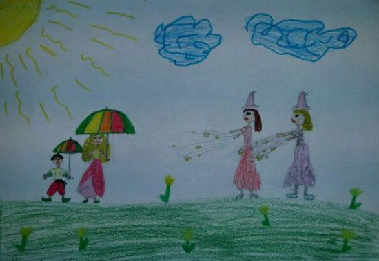 чарівна парасолька