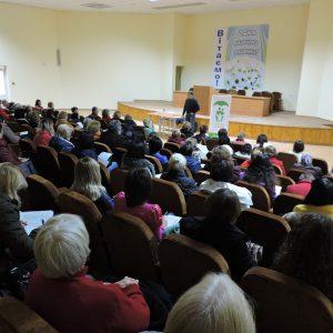 Зустріч на тему вакцинації для батьків та медпрацівників міста Бровари (ФОТО)