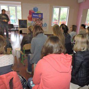 Зустріч для батьків на тему вакцинації в Ірпіні