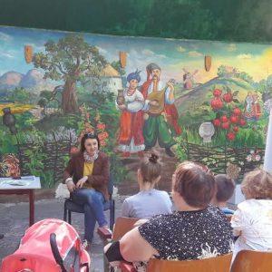 Зустріч для батьків на тему вакцинації з педіатром Тетяною Рибаковою