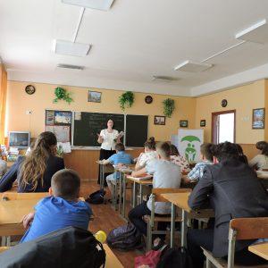 Відкритий урок на тему щеплення в школі № 246