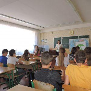 Відкритий урок на тему щеплення в школі №265