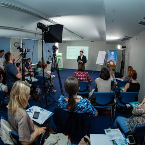 Перший тренінг в рамках програми підтримки лікарів первинної ланки пройшов у Києві