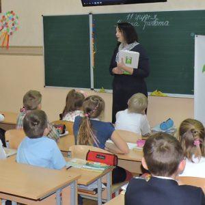 """Лекція на тему щеплення для учнів 2А класу НВК """"Домінанта"""""""