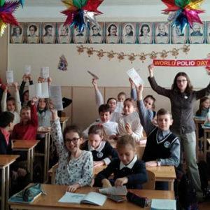 Лекція про щеплення для учнів 5А класу ЗОШ №80 м. Одеси