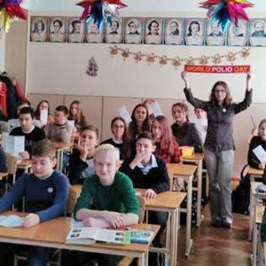 Лекція про щеплення для учнів 8 класу ЗОШ №80 м. Одеси