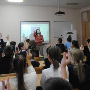 Бесіда про щеплення з учнями школи №63 м. Одеси